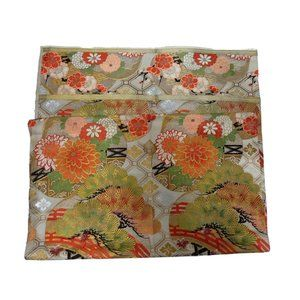 Vintage Accents - Vintage Japanese Obi Fabric Heavy Weight & Bonus!